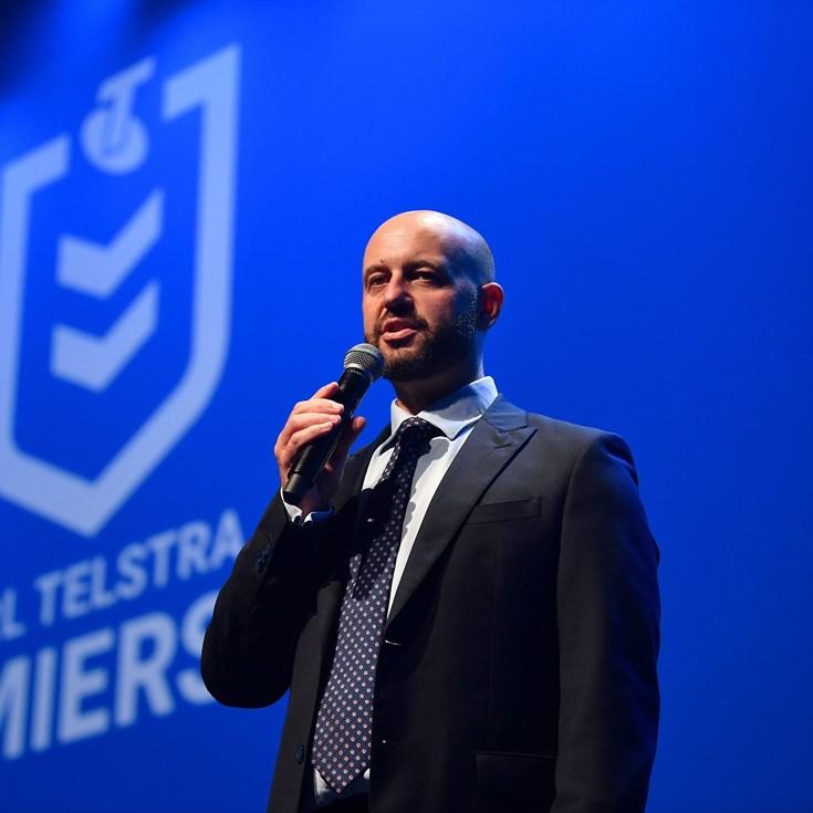 Todd Greenberg steps down as NRL CEO