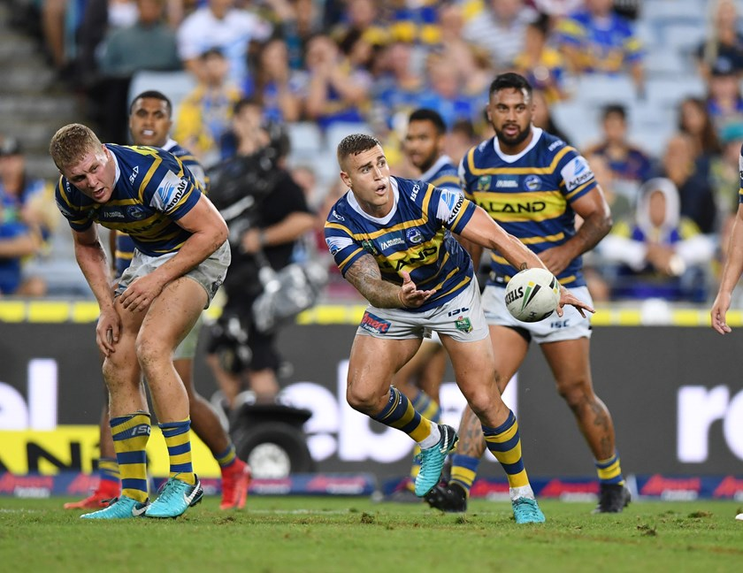 Cameron King in 2018 during his stint with Parramatta.