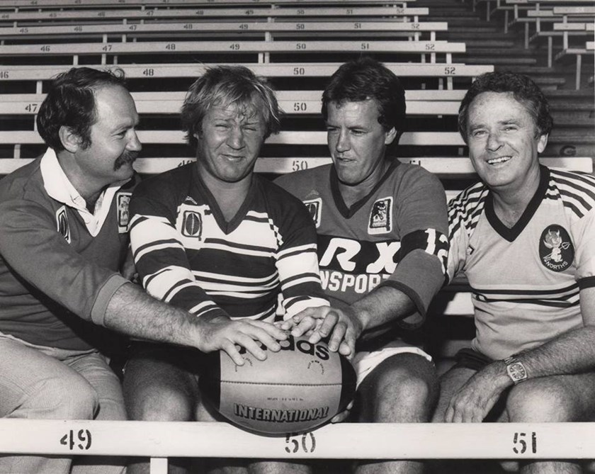 Barry Muir - National Rugby League Hall Of Fame - Hall of Fame